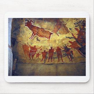 Famous Pre-historic Ancient Cave Paintings Mousepads