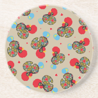 Famous Rooster of Barcelos Nr 06 Pattern Coasters