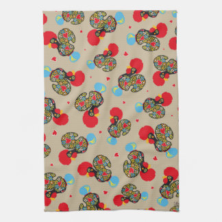 Famous Rooster of Barcelos Nr 06 Pattern Kitchen Towel