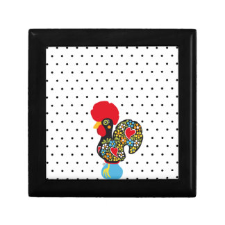 Famous Rooster of Barcelos Nr 06 - Polka Dots Gift Box