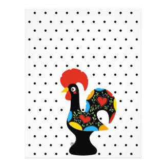 Famous Rooster of Barcelos Nr 09 - Polka Dots Flyer