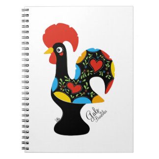 Famous Rooster of Barcelos Nr 09 Spiral Notebook