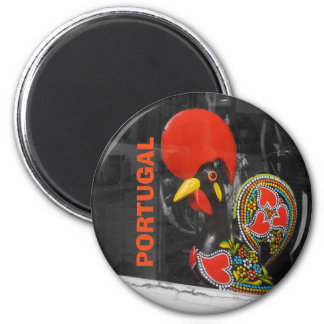 Famous Rooster of Barcelos Photo - Portugal 2 Inch Round Magnet