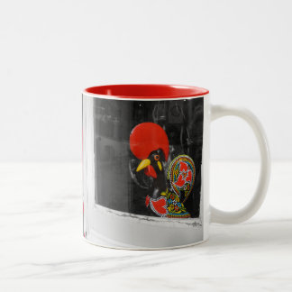 Famous Rooster of Barcelos Photo - Portugal Two-Tone Coffee Mug