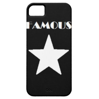 FAMOUS STAR PHONE CASE BLACK AND WHITE