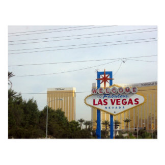 Famous Vegas Sign Postcard