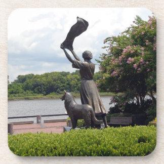 Famous Waving Lady of Savannah Coasters
