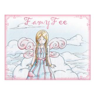 Famy Fee postcard