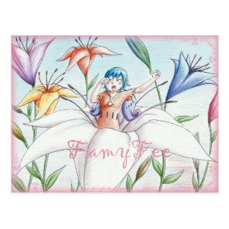 Famy Fee postcard - Lillienfee