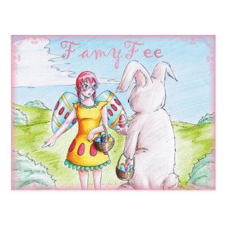 Famy Fee postcard - Osterfee
