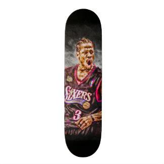 Fan Art Iverson All Natural Element Collector Deck Skate Board Deck