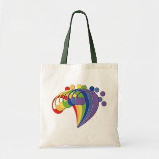 Fan Bass Rainbow Tote Bag