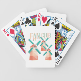 Fan Club Bicycle Playing Cards