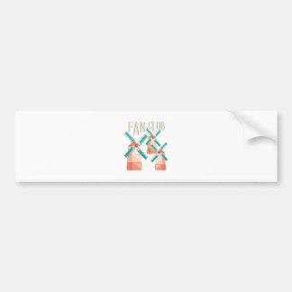 Fan Club Bumper Sticker