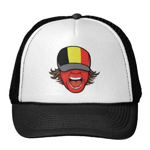 Fan de sports de la Belgique Casquette