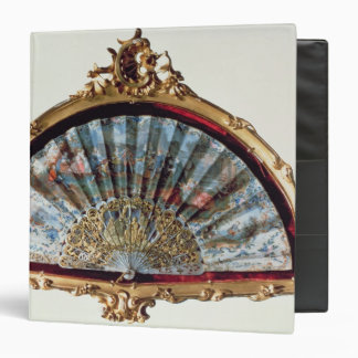 Fan, decorated with a scene of a fete vinyl binders