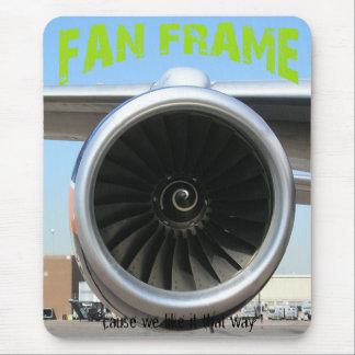 Fan Frame Mousepad