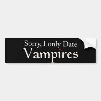 Fan Halloween de vampires de vampire Autocollant De Voiture