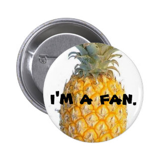 Fan of Delicious Flavor 2 Inch Round Button