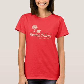 Fan of Sensitive to the cold Sheep dark Tee-shirt T-Shirt