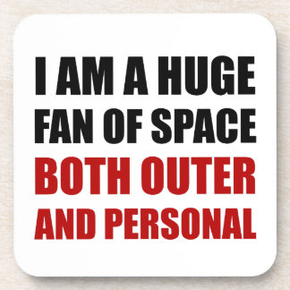 Fan Of Space Outer And Personal Coaster