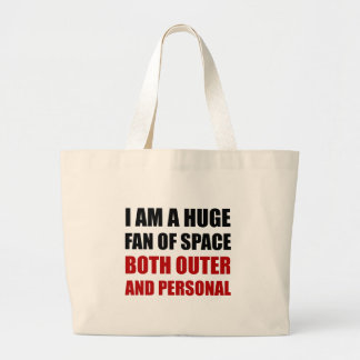 Fan Of Space Outer And Personal Large Tote Bag