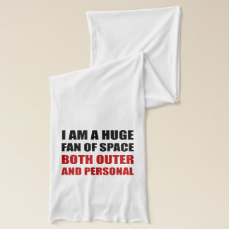 Fan Of Space Outer And Personal Scarf