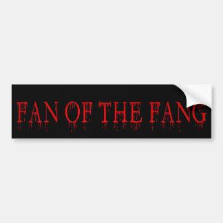 fan of the fang bumper sticker