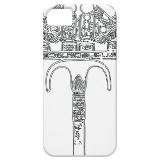 Fan of Tutenkhamun Outline iPhone 5 Cover