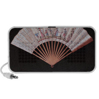 Fan of Vernis Matin type, French, mid-18th iPhone Speaker