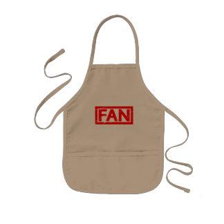 Fan Stamp Kids Apron