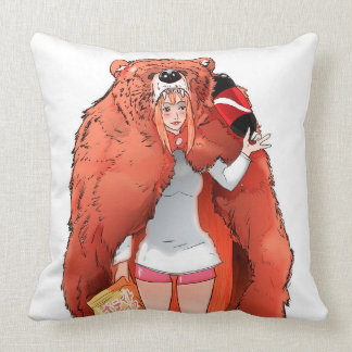 fanart umaru throw pillow