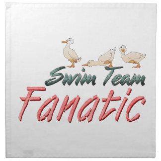 Fanatique SUPÉRIEUR d'équipe de natation Serviettes