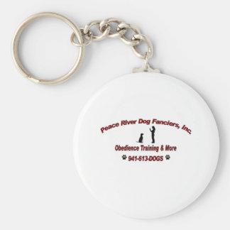 Fanciers de chien de Peace River Porte-clef