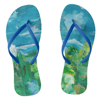 Fanciful Afternoon flipflops