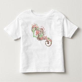 Fanciful Sea Horse - T-Shirt 2