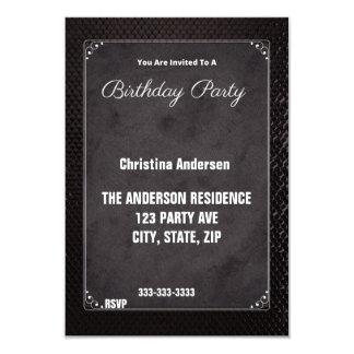 "Fancy 3.5"" X 5"" Invitation Card"