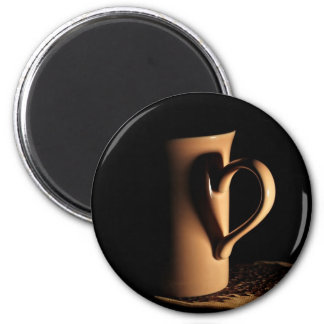 Fancy a cup of tea/coffee 2 inch round magnet