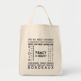 Fancy A Drink Grocery Bag! Tote Bag