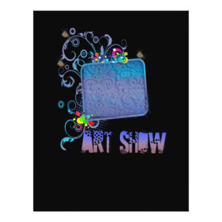 Fancy Art Show Flyer
