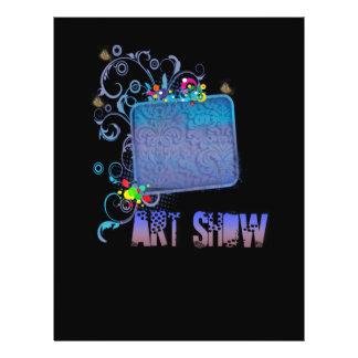Fancy Art Show Full Color Flyer