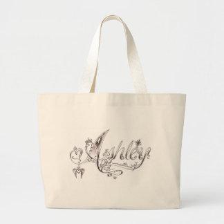 Fancy Ashley Signature Large Tote Bag