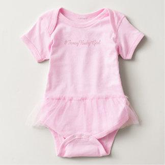 #Fancy Baby Girl Tutu Bodysuit