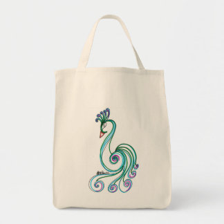 Fancy Bird Tote Bag