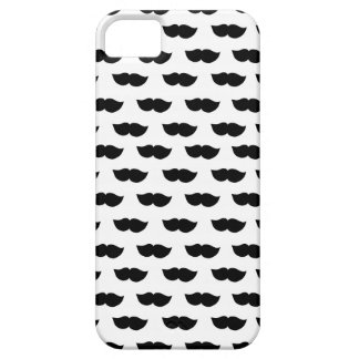 Fancy Black Moustaches Case For The iPhone 5