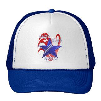 Fancy Blue Star Mom Hats