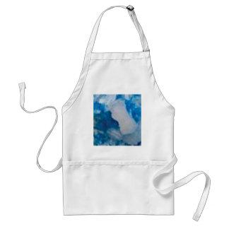 fancy blue stones standard apron