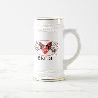 Fancy Bride Beer Stein