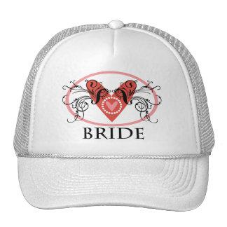 Fancy Bride Mesh Hats