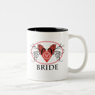 Fancy Bride Two-Tone Coffee Mug